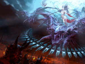 angels vs demons wallpaper love between angels and demons gothic