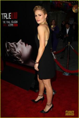 Lauren Bowles Julia Louis Dreyfus Anna-paquin-gives-stephen- ...