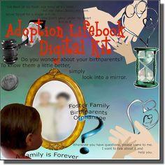adoption lifebook digital scrapbook kit more scrapbook ideas lifebook ...