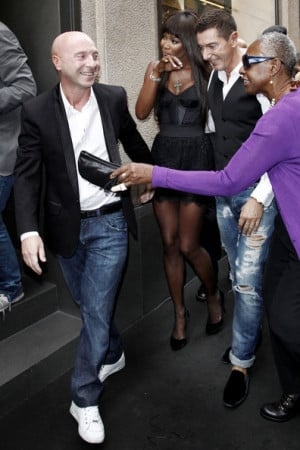 Stefano Gabbana Fashion designers Domenico Dolce and Stefano Gabbana