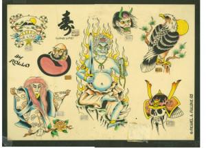 Mike Malone China Sea Tattoo