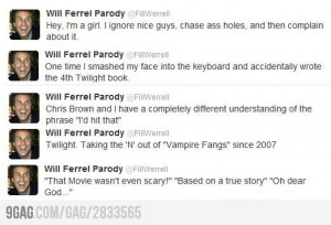 Will Ferrell Funny Posts...