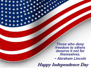 """Those Who Deny Freedom To Others Deserve It Not For Themselves"""" by ..."""