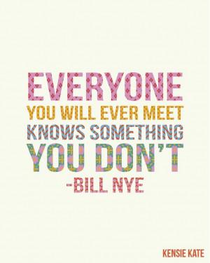 Bill Nye | kensie kate