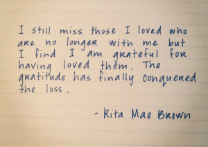 quotes missing someone died