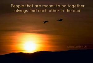 True love always finds a way