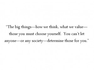 Tuesdays with Morrie quotes, on values
