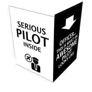 Funny Pilot Quotes 1 -Leather Passport Cover