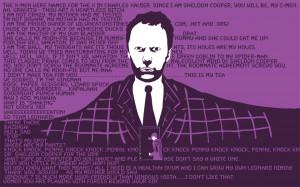 Sheldon cooper wallpaper