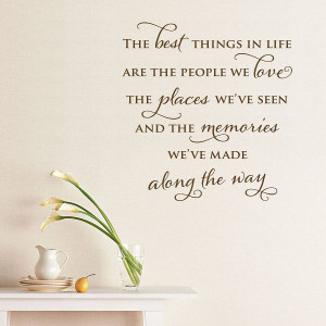 Best Quote About Life And Happiness: The Best Things In Life Quote ...