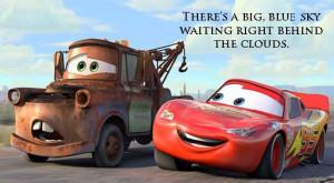 Disney Quote Cars: