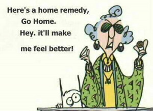 Six assorted, vintage Maxine cartoons