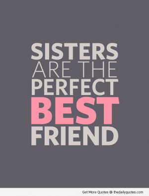 Sisters | The Daily Quotes