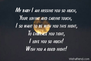 Good Night Quotes for Boyfriend