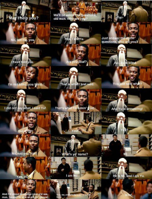 One of the funniest scenes in Rush Hour 3