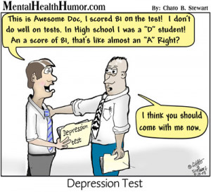 """... Depression Tests"""" that can help your doctor determine what type of"""