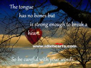 Tongue Has Bones But Really