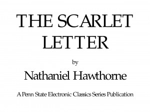 Nathaniel+hawthorne+the+scarlet+letter