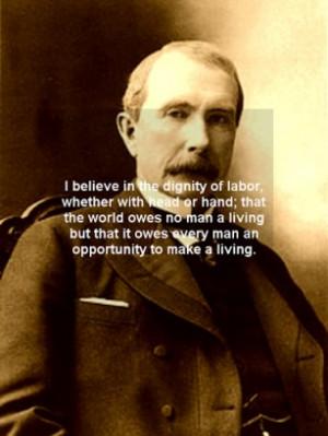 John Rockefeller Quotes...