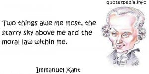 Immanuel Kant Philosophy Quotes