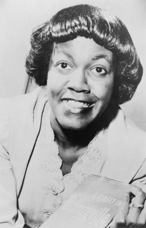 Gwendolyn Brooks, author of