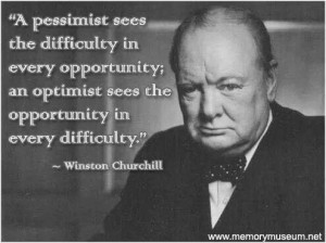 Perception determines the outcome