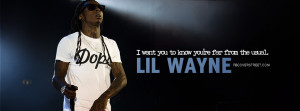 Lil Wayne Far From The Usual Quote Picture
