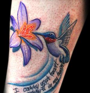 35 Cool Hummingbird Tattoos - 32