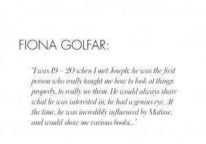 BIRTHDAY QUOTES: FIONA GOLFAR
