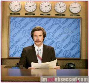 Were you a fan of Will Ferrell in 'Anchorman'? If so, then this is ...