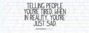 So Tired Black and White Telling People Youre Tired