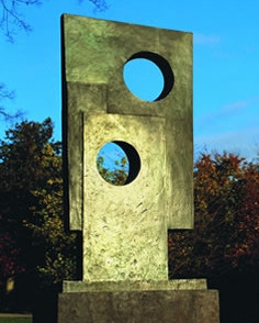 Barbara Hepworth Squares with two circles