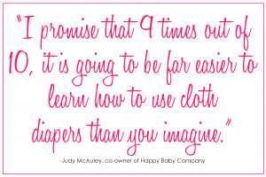 Besides using a diaper service, do you have any tips that can make ...