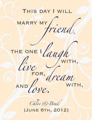 Custom Wedding Poem Digital Print Gift 8 x 10 by DIGITALTOASTER, $19 ...