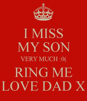 missing my son quotes quotesgram