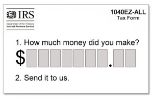 With tax season rapidly approaching, here's a funny look at the new ...