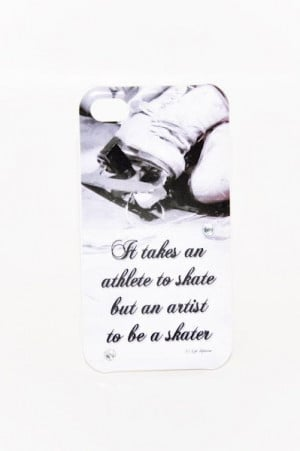 ICE SKATING CELLPHONE Case Inspirational Athlete Artist Figure Skating ...