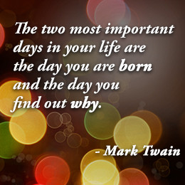 Mark Twain quote on life