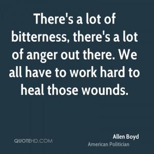 Allen Boyd Work Quotes