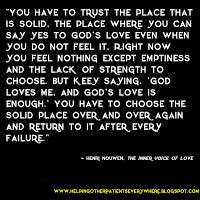 Henri Nouwen from , The Inner Voice Of Love More