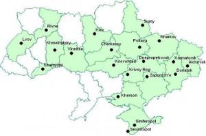 Chernivtsi Ukraine Map