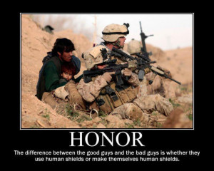 ... caption it speaks of courage strength and honor reminds us that even