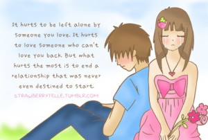 Can break us apart...:(