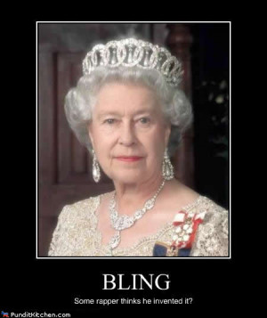 Queen Elizabeth's Bling