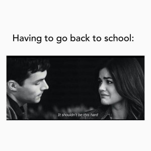 ... ian harding, lucy hale, pretty little liars, quotes, school, september