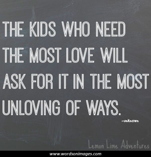 Parent Inspirational Quotes of Love
