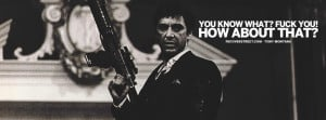 Say Goodnight To The Bad Guy Tony Montana... This Is Paradise Tony ...