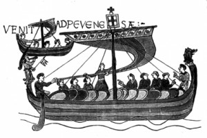 One of William the Conqueror's ships, 1066 A.D