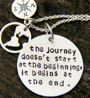 The true journey of life begins at every end.
