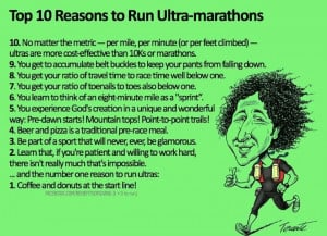 want to run an ULTRA marathon! (I'd start with a 50K (31 miles) and ...